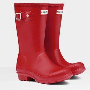 New Hunter Original Big Kids Rain Boots